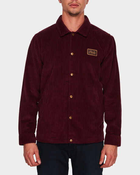 ENJOY CORDUROY COACH JACKET