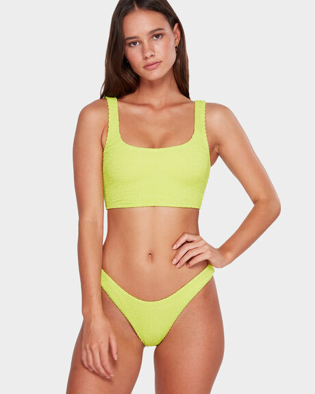 SUMMER HIGH CROP TANK BIKINI TOP