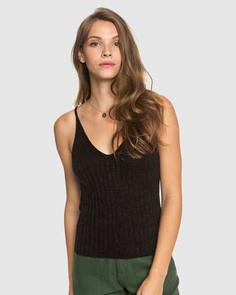 WOMENS MOON BIRD KNITTED STRAPPED TOP