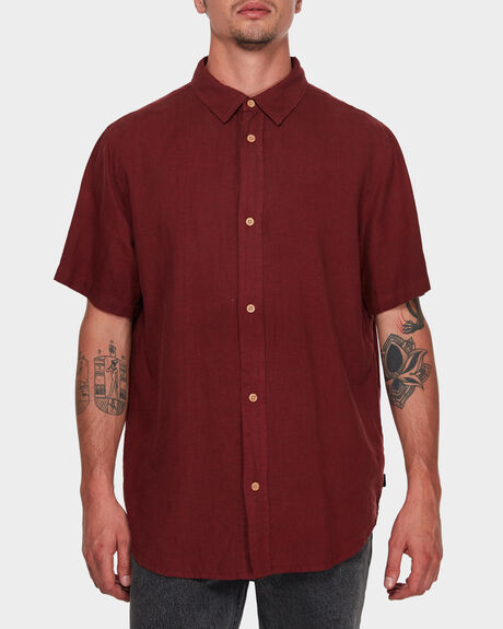 ZEPPELIN HEMP SHORT SLEEVE SHIRT