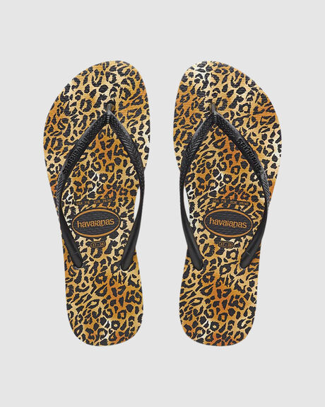 KIDS SLIM LEOPARD BLACK/BLACK