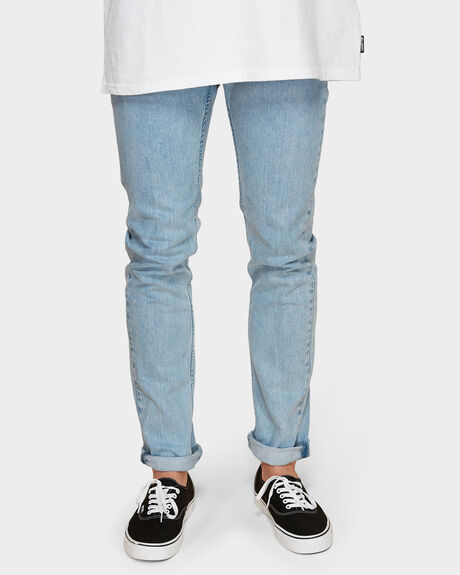 RVCA ROCKERS DENIM VINTAGE BLUE JEANS