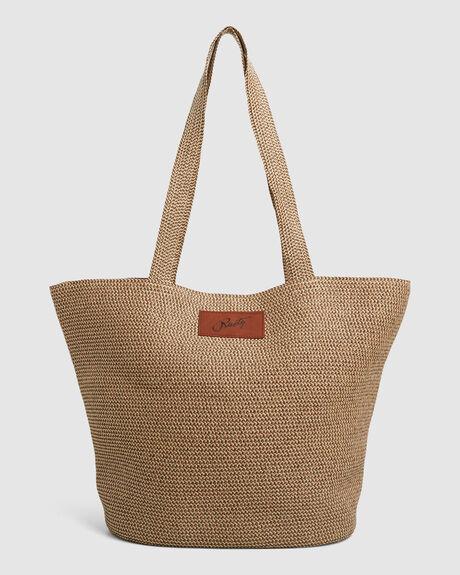 GISELLE STRAW BEACH BAG