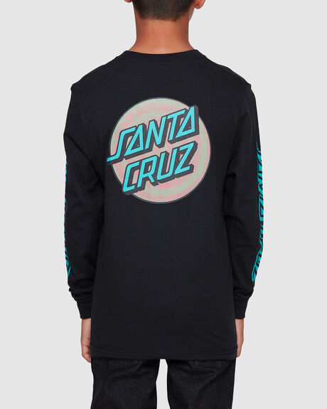 COILED DOT LONG SLEEVE TEE