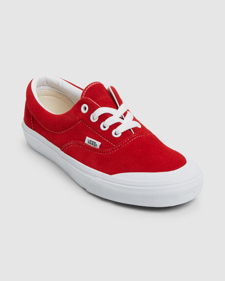 ERA TC SUEDE RACING RED/T WHT
