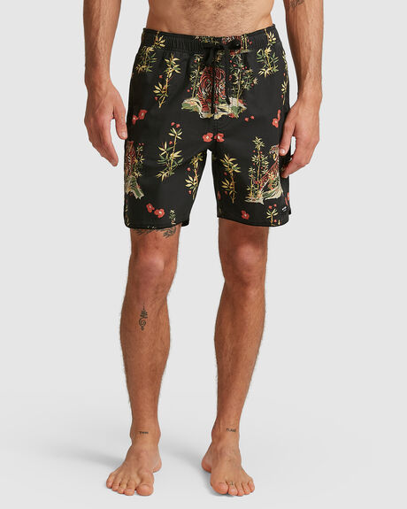 MENS JARED MELL ELASTIC BOARDSHORT