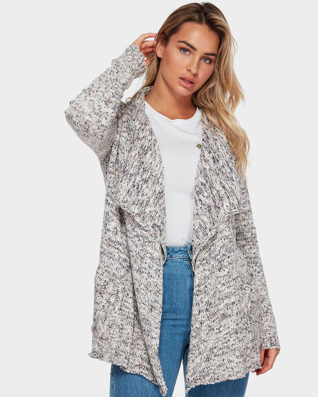 LOCKED OUT WRAP CARDIGAN