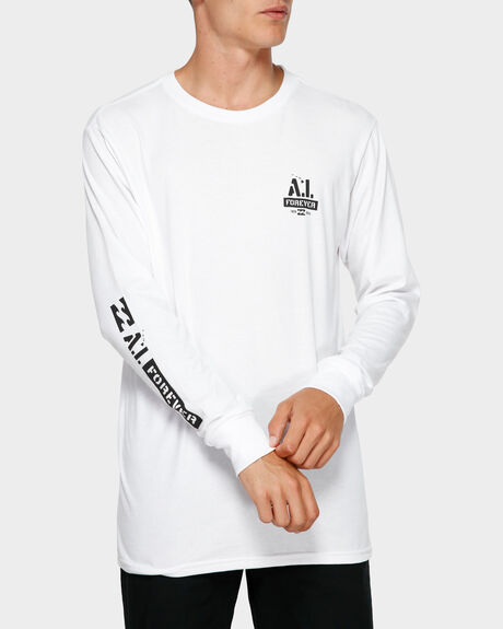 ANDY IRONS STENCIL LONG SLEEVE TEE