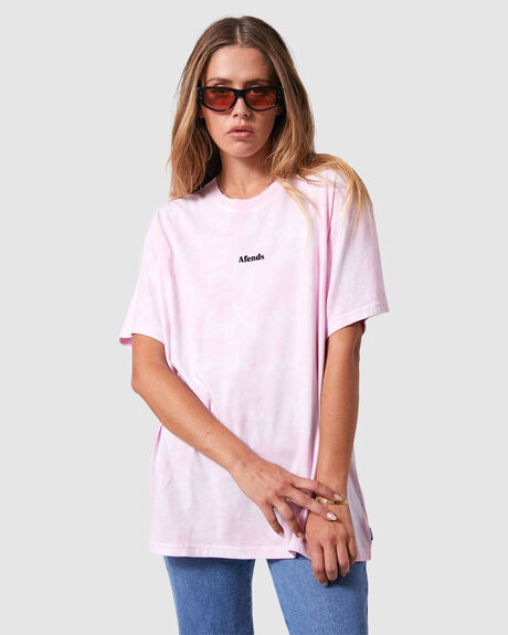 WOMENS FREEDOM  OVERSIZED TEE