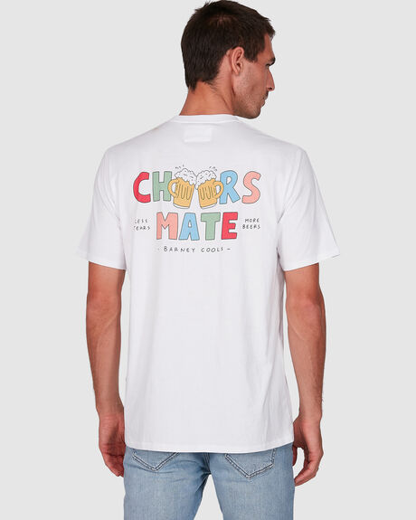 MENS CHEERS MATE TEE