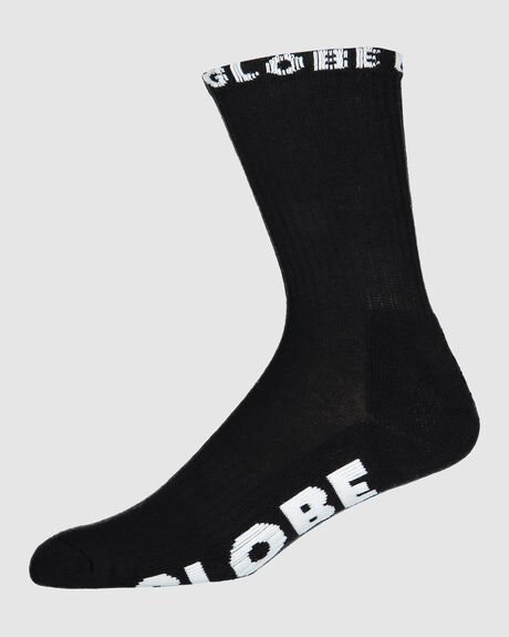 GLOBE BOYS BLACKOUT SOCK 5 PK