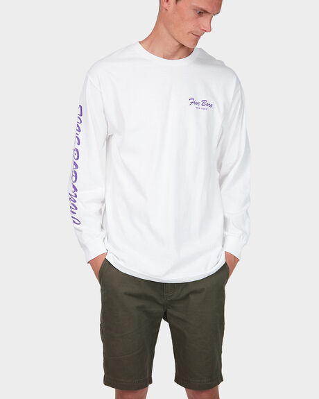 BURNING ROSE LONG SLEEVE TEE