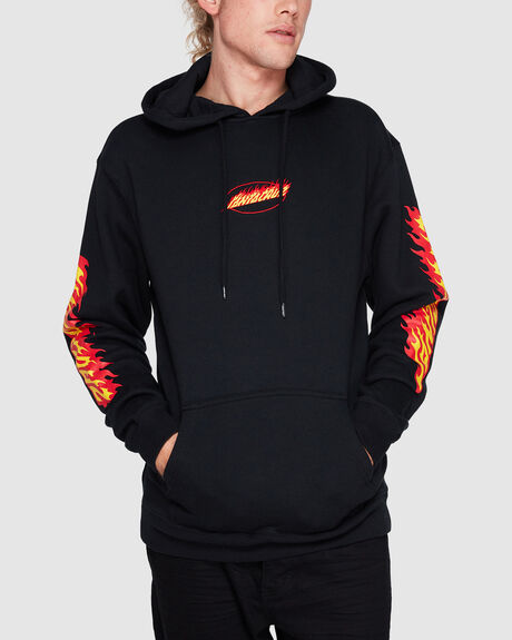 FLAMING DOT POP HOODIE