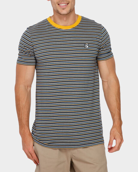 FINZ STRIPE SHORT SLEEVE TEE