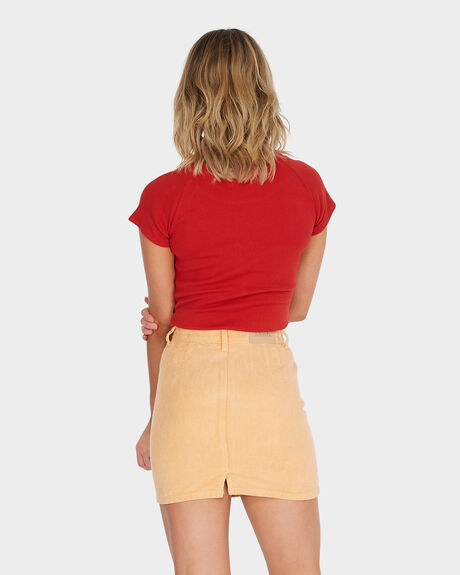 CHEVETTE - CORDUROY SKIRT