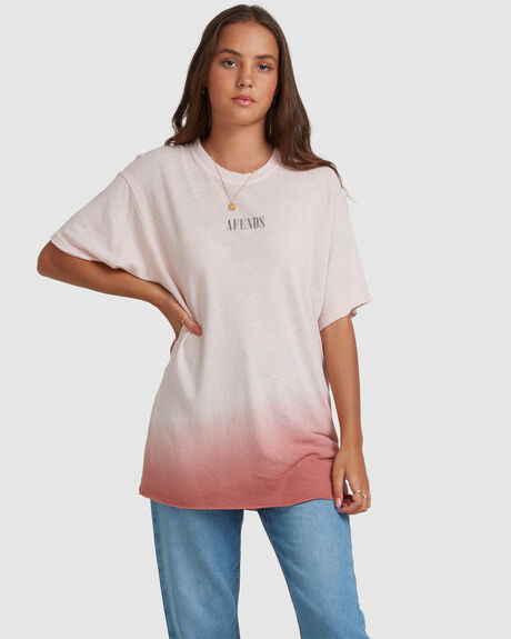 COURTNEY LOVE - HEMP OVERSIZED TEE