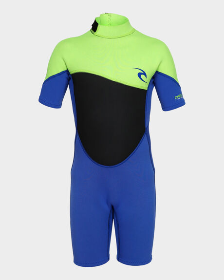 JUNIOR OMEGA 1.5MM SHORT SLEEVE SPRING WETSUIT