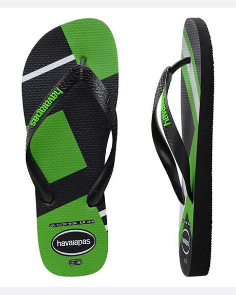 Trend Black/Neon Green