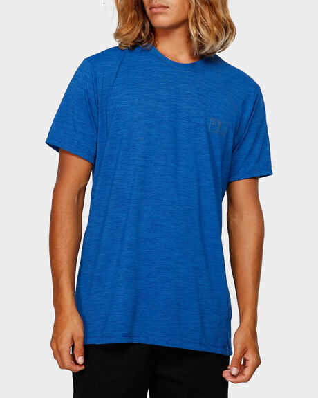 ROBERT SHORT SLEEVE HEATHERED VENTX SP18 TEE