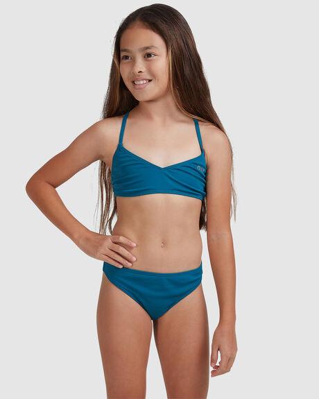 GIRLS SUMMER OF SURF ATHLETIC BIKINI SET