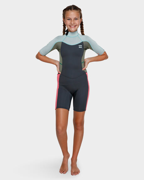 2MM TEEN GIRLS SYNERGY BACK ZIP SPRING SUIT