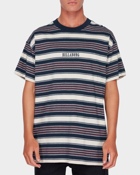 MIX UP STRIPE TEE