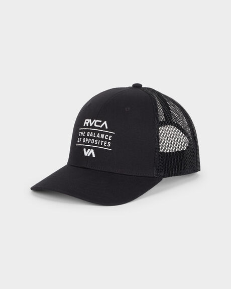 RVCA CORPS CURVED TRUCKER