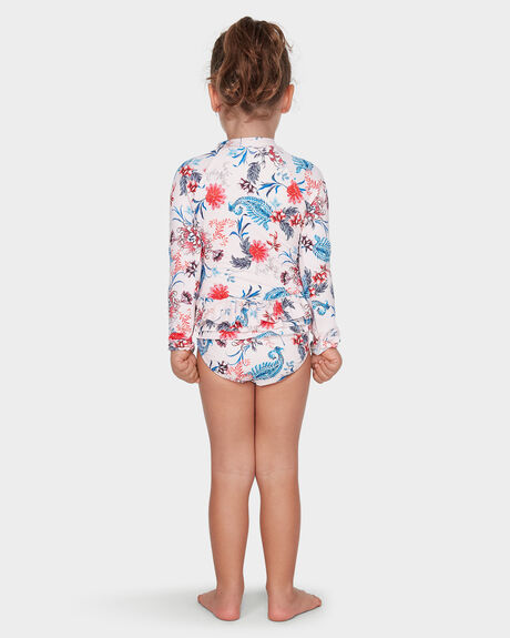 WATER GARDEN LONG SLEEVE SURF ONE PIECE