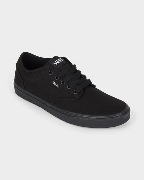 ATWOOD (CANVAS) BLACK / BLACK SHOE