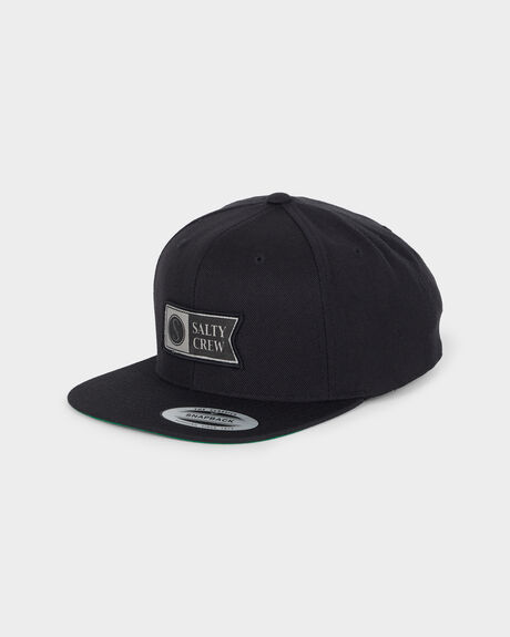 ALPHA STAMPED STRUCTURED CAP