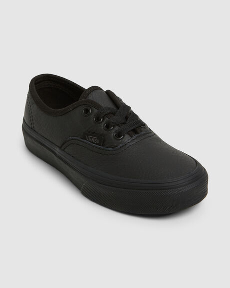 AUTHENTIC (LEATHER) BLACK MONO