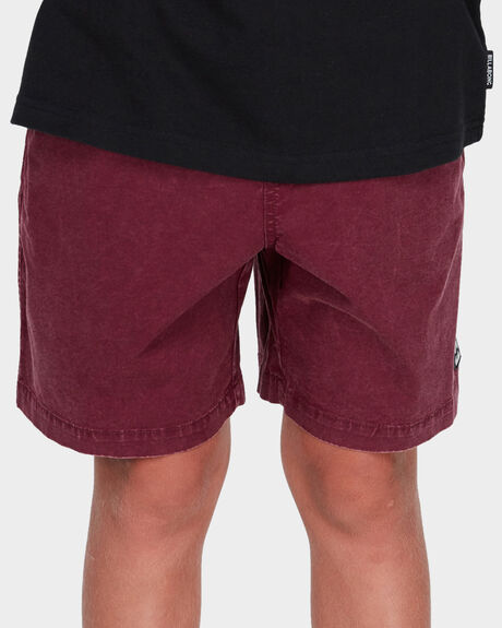 TEEN MARIO STRETCH ELASTIC BOARDSHORT