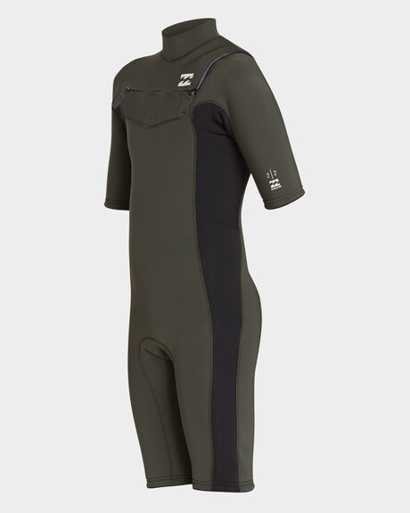 YOUTH 202 REVOLUTION GBS SHORT SLEEVE SPRING WETSUIT