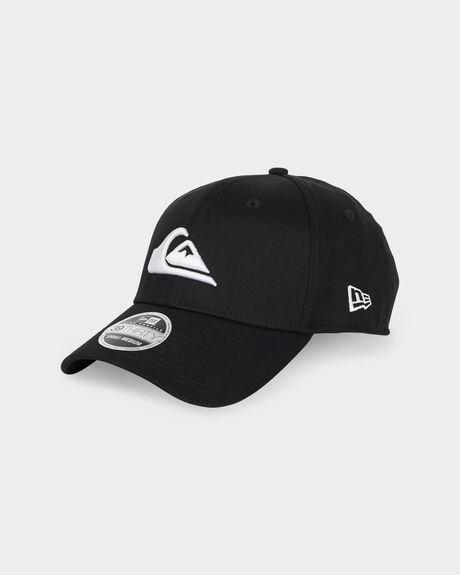 MOUNTAIN & WAVE BLACK CAP