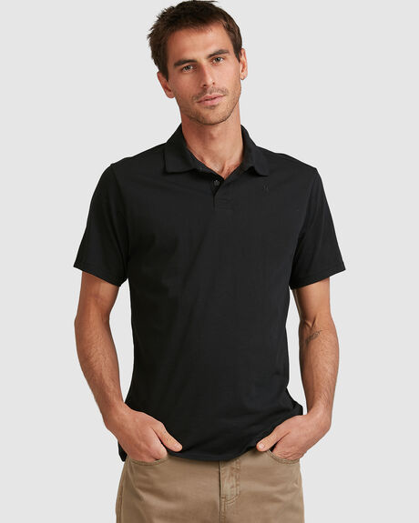 DF HARVEY SOLID  DRI-FIT POLO