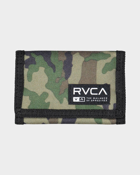 RVCA PRINT TRIFOLD WALLET