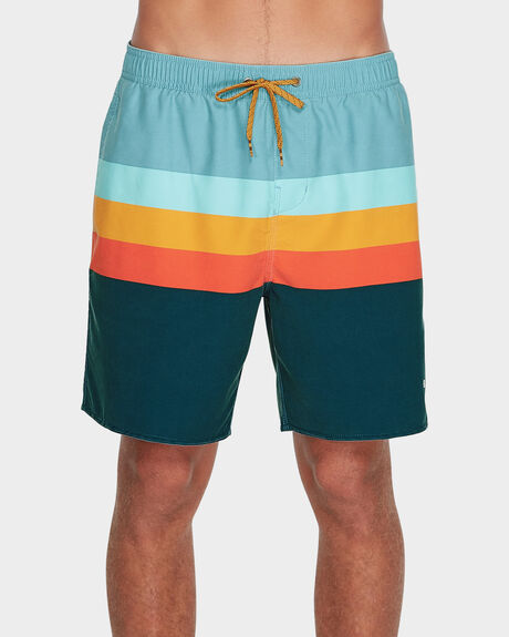"MOMENTUM LAYBACKS 17"" BOARDSHORT"
