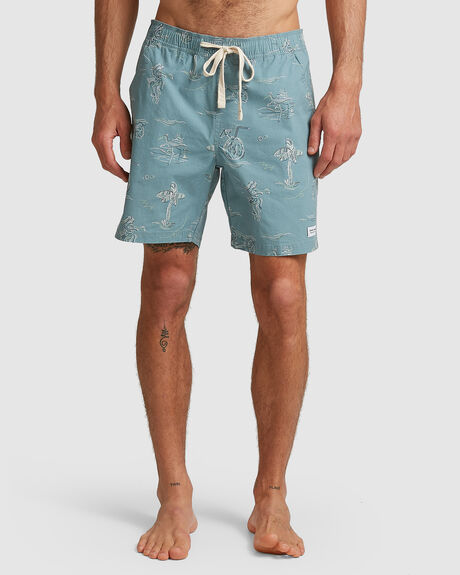 MENS SEASIDE BOARDSHORT