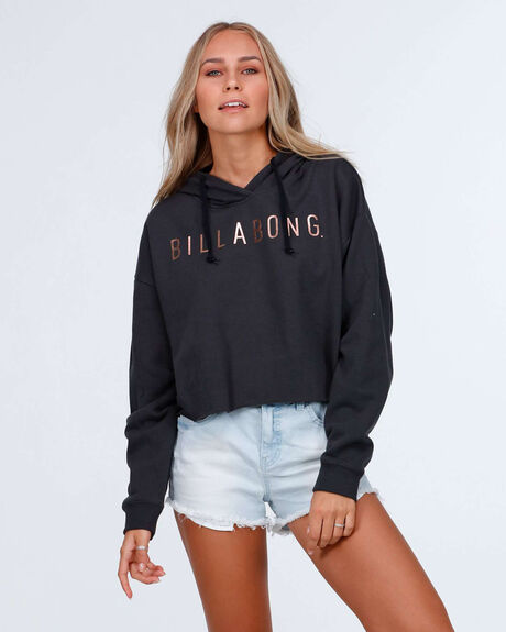 Swells Up Cropped Hooded Pullover