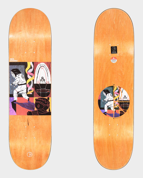 NICK BOSERIO ALIEN ENCOUNTER SKATEBOARD DECK