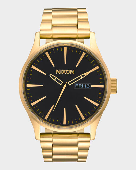 SENTRY SS ALL GOLD BLACK WATCH